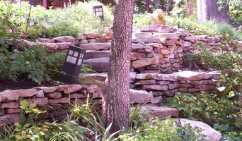 Silver spring sloped side yard