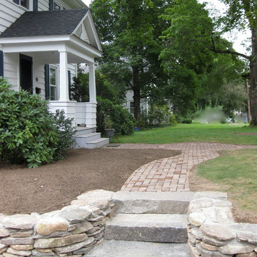 Simple and Sweet Front Drive and Walkway