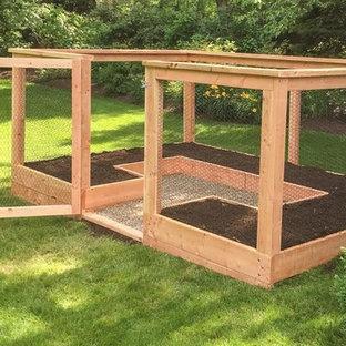 Idee per un giardino esposto in pieno sole di medie dimensioni