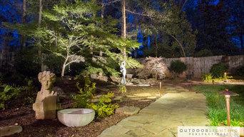 Simpsonville Outdoor Lighting