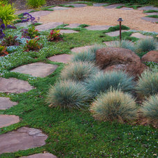 Contemporary Landscape by AtMar Landscape Services, Inc.