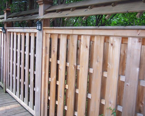 Shadowbox Fence Home Design Ideas Pictures Remodel And Decor