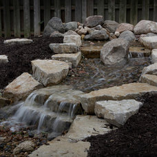 Traditional Landscape by Clear Creek Landscapes