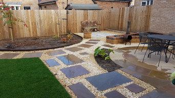Small Classic Garden, Abergavenny