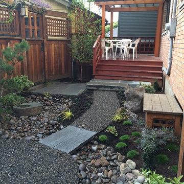 Small Japanese Landscape Design / Build