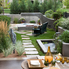 Contemporary Landscape by Phase One Landscapes