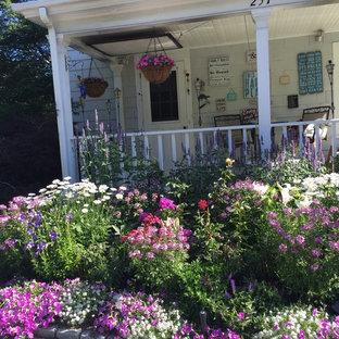 Jardin romantique Boston : Photos et idées déco de jardins