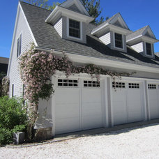Traditional Garage And Shed by Maria Hickey & Associates Landscapes