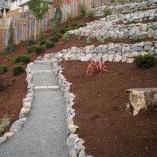 Landscape by Paradise Restored Landscaping & Exterior Design