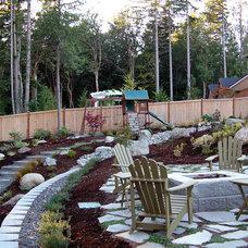 Craftsman Landscape by Northwest Construction & Landscape, LLC