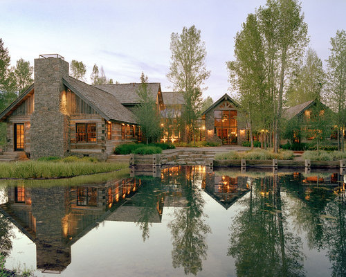 Terrific Waterfront Homes Ideas Pictures Remodel And Decor Largest Home Design Picture Inspirations Pitcheantrous