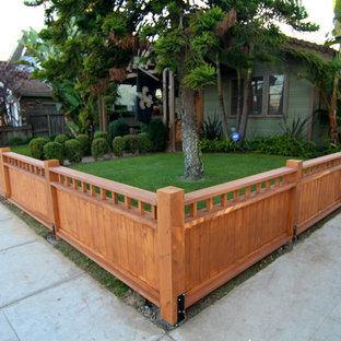 Esempio di un giardino american style