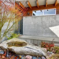 Contemporary Landscape by Lane Williams Architects