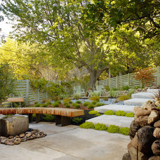 Modern Landscape by Michael Tauber Architecture