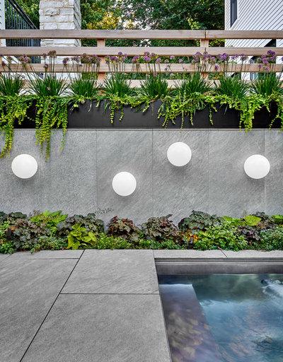 Contemporáneo Jardín by dSPACE Studio Ltd, AIA