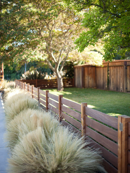 Front Yard Fence With Arbor