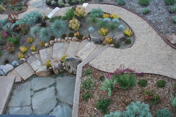Scale e gradini in giardino falli perfetti - Scale in giardino ...
