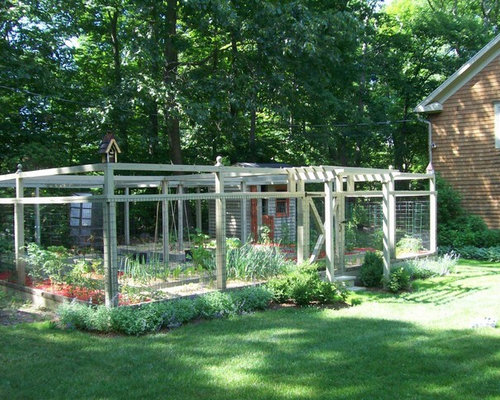 Enclosed Garden Design Ideas Remodel Pictures Houzz