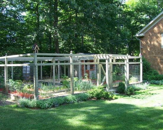 Deer Proof Vegetable Garden Ideas deer proof gardening | houzz