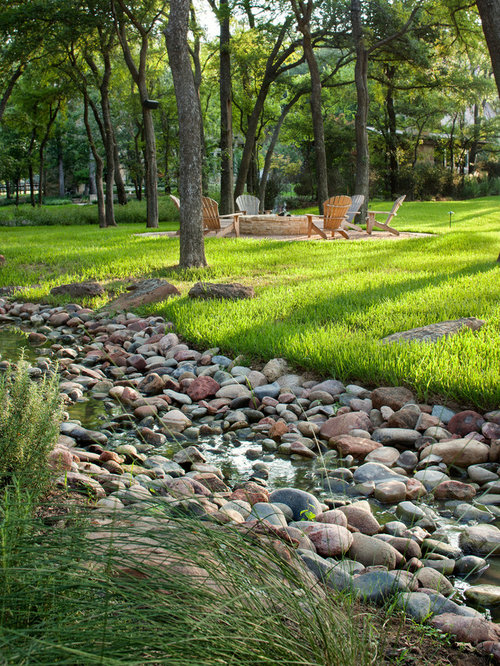 Backyard Drainage Ideas gutter drainage my first pinterest project gutter drainagedrainage ideasoutdoor Photo Of An Expansive Mediterranean Backyard Landscape In Austin With A Fountain