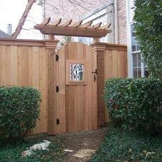 Traditional Landscape by Southwest Fence & Deck