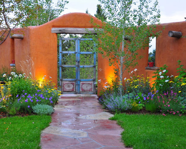 American Southwest Garden by Designscapes Colorado Inc.
