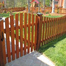 Traditional Home Fencing And Gates by Harrison Fence