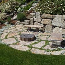 Contemporary Landscape by Bear Creek Landscaping , LLC