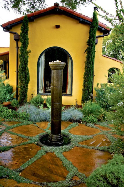 Mediterranean Landscape by Jeffrey Gordon Smith Landscape Architecture