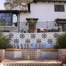 Mediterranean Landscape by SoCal Contractor