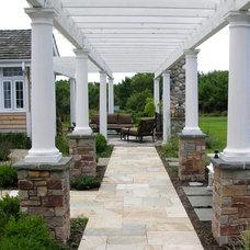 Traditional Landscape by Premier Service