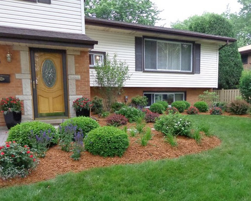 Flat Roof House Exterior Curb Appeal