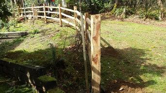 Split Rail Cedar Fence
