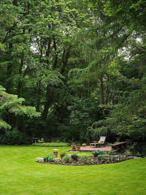 Wooded Backyard | Houzz on Wooded Backyard Ideas id=65131