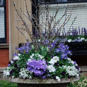 Spring Garden Urn