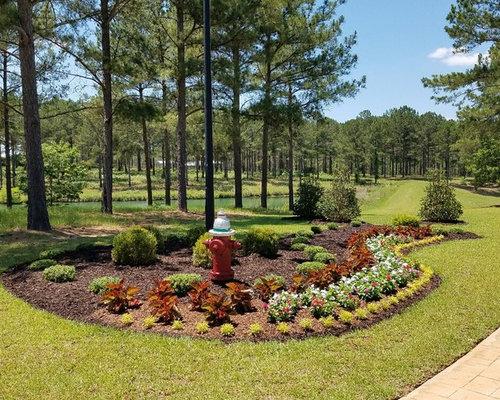 Fotos de jardines   Diseños de jardines extra grandes con mantillo