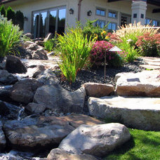 Contemporary Landscape by Chuck B. Edwards - Breckon Land Design