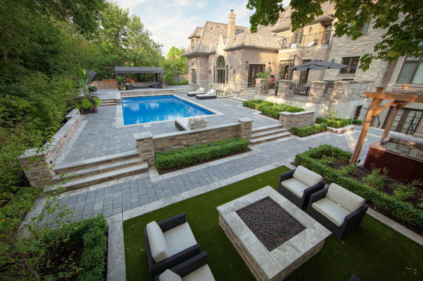 Contemporary Landscape by Pro-land Landscape Construction