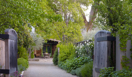 Get the Look: California Wine Country Garden Style