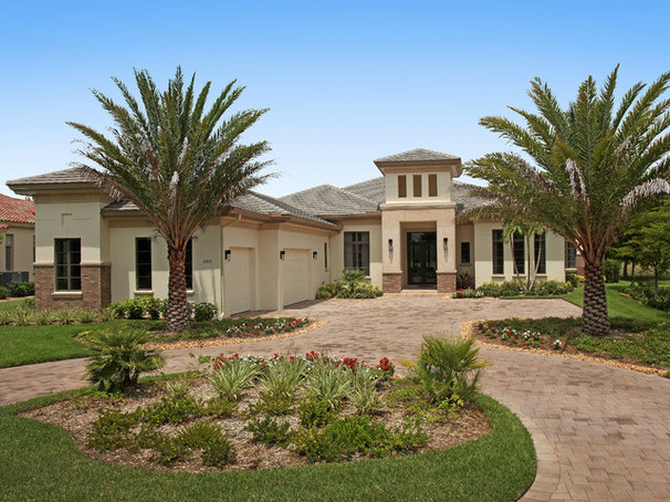 Mediterranean Landscape by Imperial Homes of Southwest Florida Inc