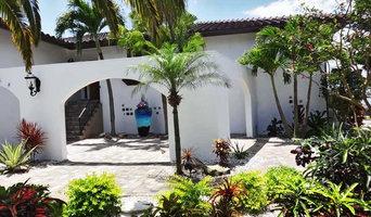 St. Pete Beach Mediterranean Courtyard