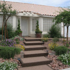 Stairs Traditional Landscape Las Vegas By Pebble Stone Coatings
