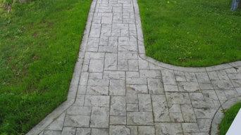 Stamped Concerete - Walkways
