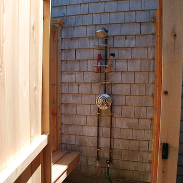 Standard Cedar Outdoor Shower