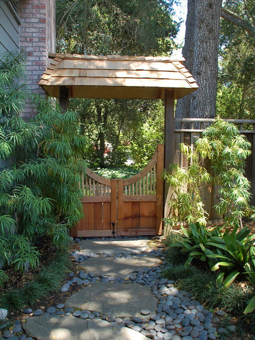 Asian gate home design ideas pictures remodel and decor for Asian inspired garden designs