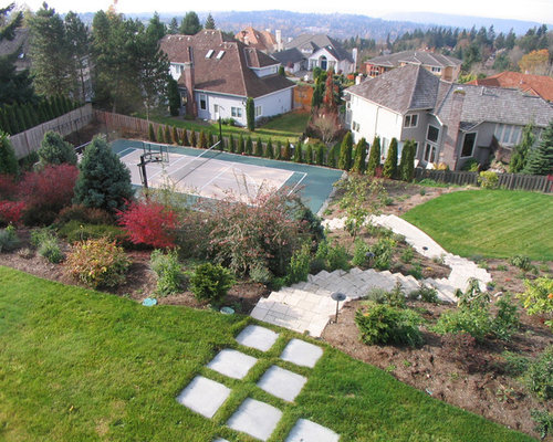 Garden Design On Steep Slopes steep slope landscaping | houzz