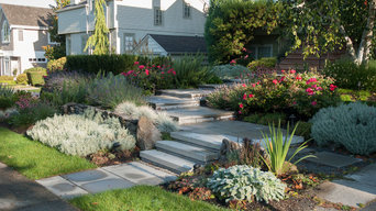 Stepped Entrance Path