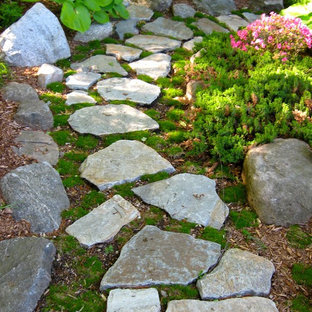 75 Beautiful Rustic Walkway Pictures Ideas Houzz