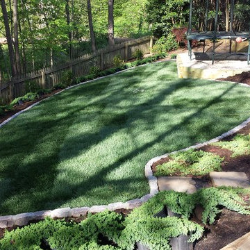 still pond ( front renovation) in North Raleigh Nc )