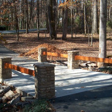 Exterior by ARNOLD Masonry and Landscape